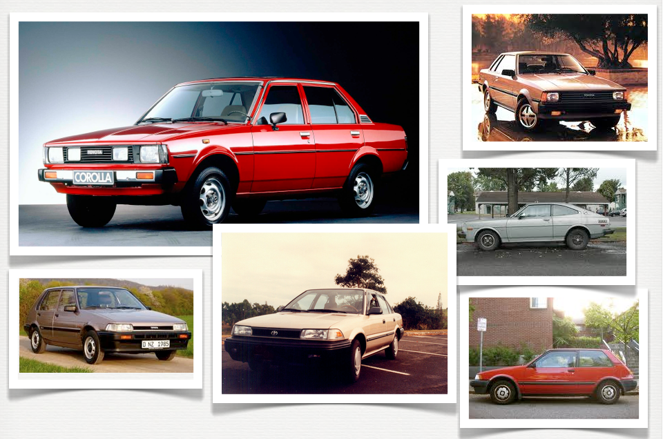 Toyota Sandy Springs >> History of the Corolla | Sandy Springs Toyota