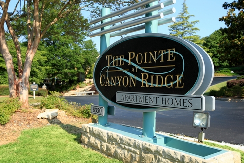 Mall Of Ga Toyota >> The Pointe at Canyon Ridge Apartments | Sandy Springs Toyota